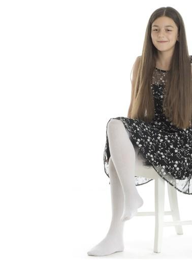 Piaff Külotlu Çorap Beyaz
